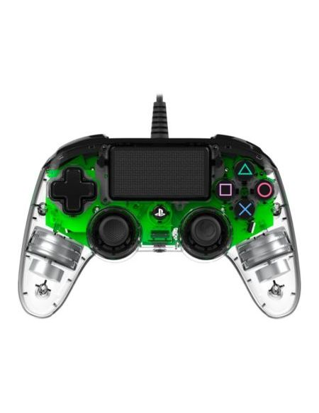 Nacon manette officielle filaire PS4 Clear Green