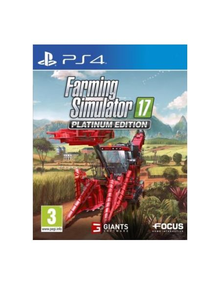 Jeu PS4 Focus Farming Simulator 17 - Edition Platinum