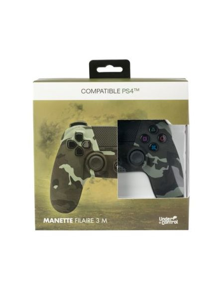 Manette Under Control Manette PS4 Filaire Camouflage