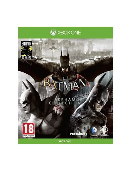 Jeu Xbox One Warner Batman Arkham Collection