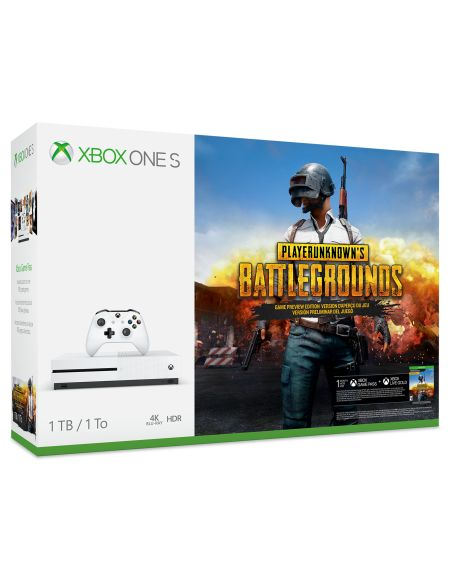 Console Xbox One S 1 To – Pack PLAYERUNKNOWN'S BATTLEGROUND