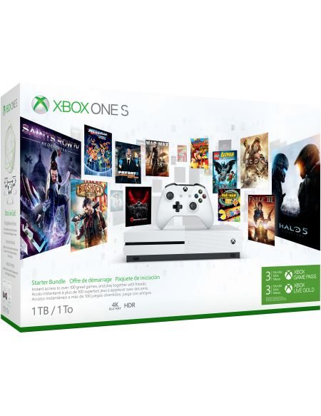 Console Xbox One S 1 To – Pack de démarrage