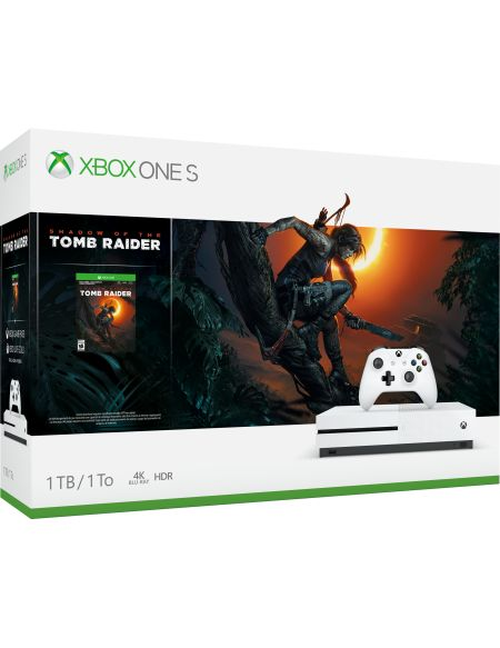 Pack Console XboxOneS 1To – Shadow of the Tomb Raider