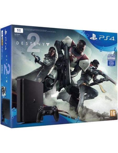 PS4 Slim 1 To Noire + Destiny 2