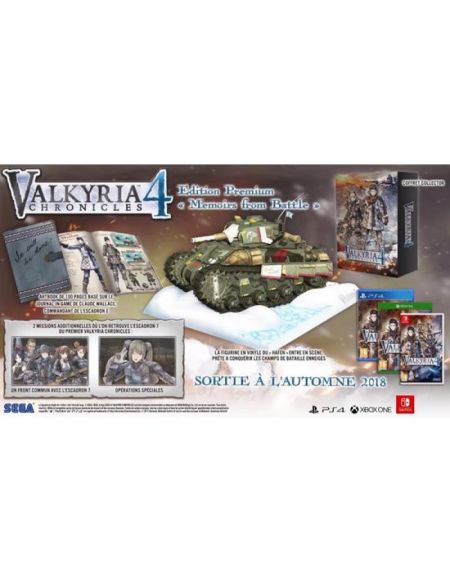 Valkyria Chronicles 4 Edition Premium Memoirs From Battle
