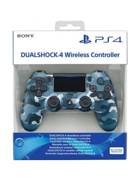 Dual Shock 4 Bleu Camouflage