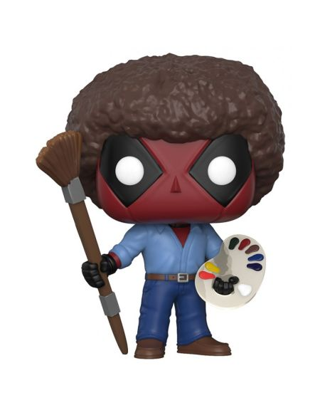 Figurine Toy Pop N°319 - Deadpool Playtime - 70's avec coupe afro