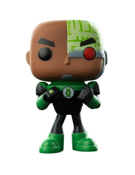 Figurine Toy Pop N°338 - Teen Titans Go ! - Cyborg as Green Lantern