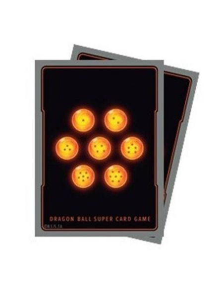 Protège cartes (65) - Dragon Ball Super - 7 Boules de Cristal
