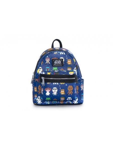 Mini sac à dos Loungefly - Star Wars - Personnages