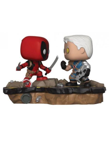 Figurine Toy Pop Moment N°318 - Deadpool - Deadpool Vs Cable