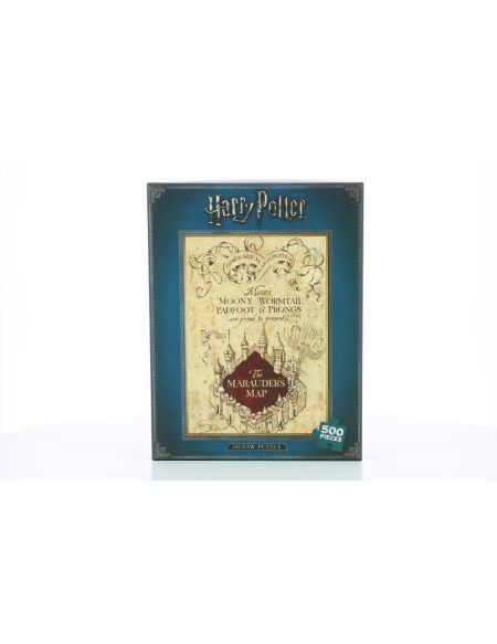 Puzzle - Harry Potter - Carte du Maraudeur 500 Pièces
