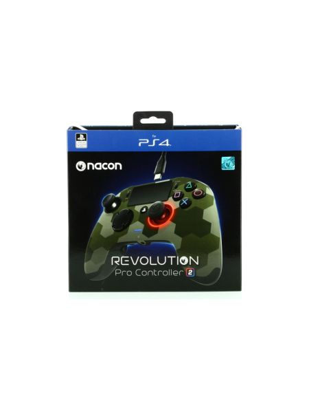 Manette Officielle Nacon Revolution 2 camo vert - Exclusivité Micromania-Zing