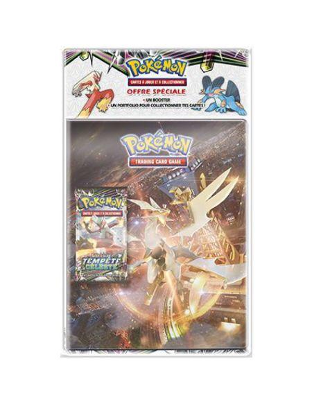 Cahier range cartes - Pokémon - avec booster Soleil et Lune 07