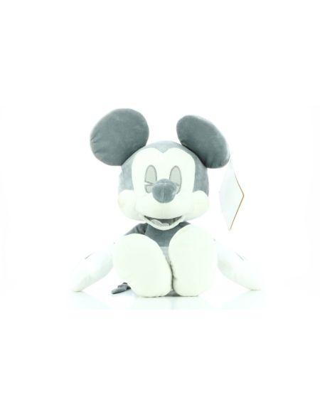 Peluche - Mickey - Rétro Gris 40 cm - Exclusivité Micromania-Zing