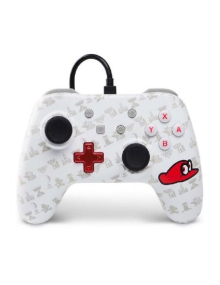 Manette filaire Nintendo Switch Mario Odyssey