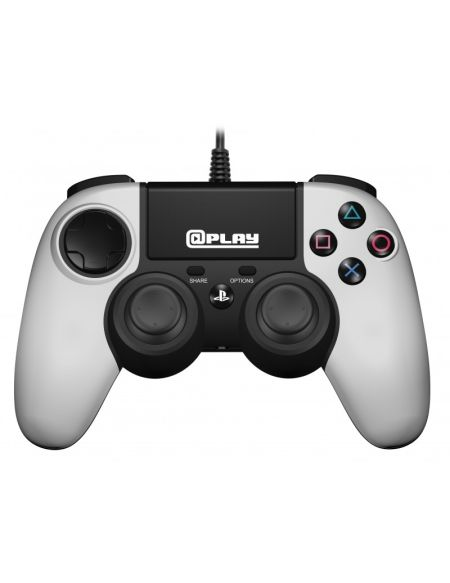 Plap Manette Filaire Blanche @play Ps4 Officielle Sony