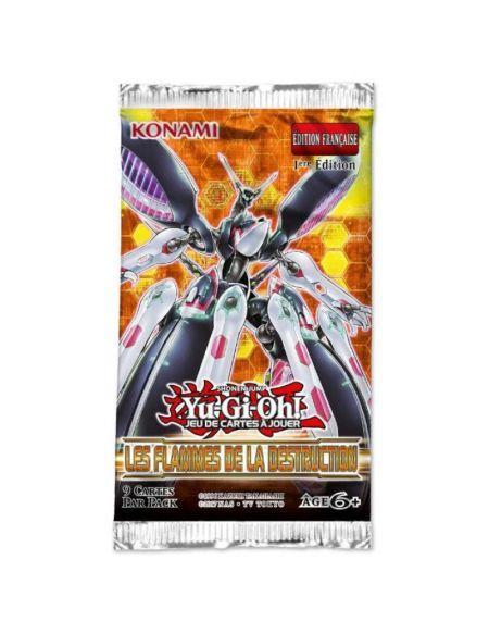 Booster - Yu-gi-oh! - Les Flammes de la Destruction