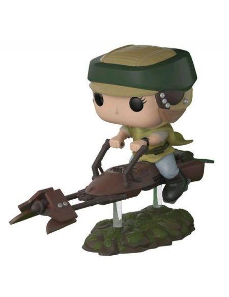 Figurine Toy Pop N°228 - Star Wars - Leia sur un Speeder