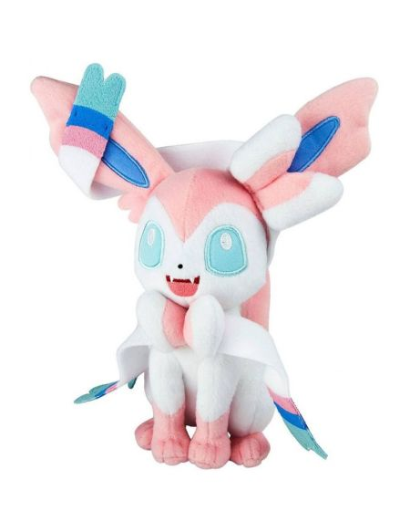Peluche - Pokémon - Nymphali - Exclusif Micromania