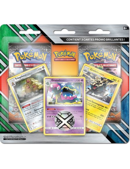 Booster - Pokémon - Pack 2 Boosters Soleil et Lune