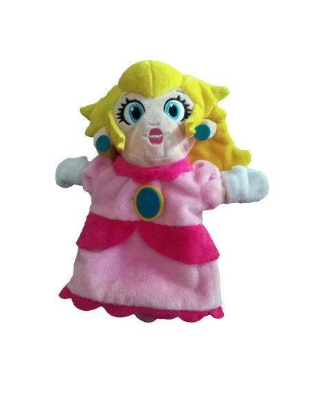 Marionnette Peluche - Mario - Princesse Peach - Exclusivité Micromania-Zing