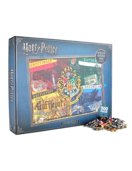 Puzzle - Harry Potter - Maisons 500 pièces