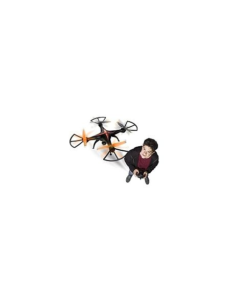 Drone Spy Racer FPV + LCD 4 canaux et gyroscope