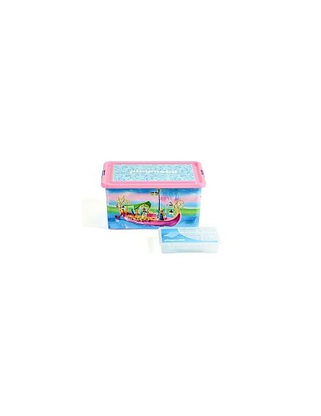 My Note Deco - Boîte Plastique 23L - Playmobil Fées