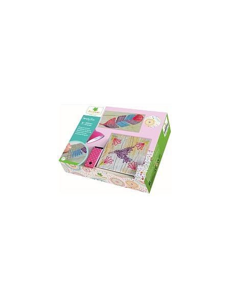 Lovely Box - 5 Tableaux Fil Tendu