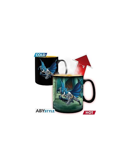 Mug thermoréactif Dc Comics - Batman & Joker