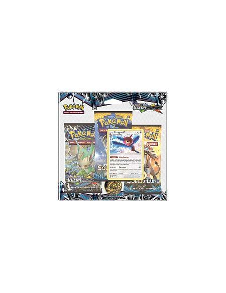 Pack 3 Boosters - Pokémon Soleil & Lune 05 - Prygon-Z