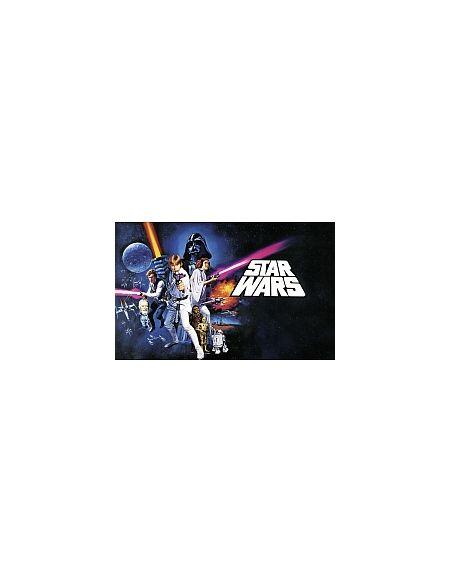 LDD Komar - Sticker mural - Star Wars Poster Classique 1 - 4 pièces - 400 x 250 cm