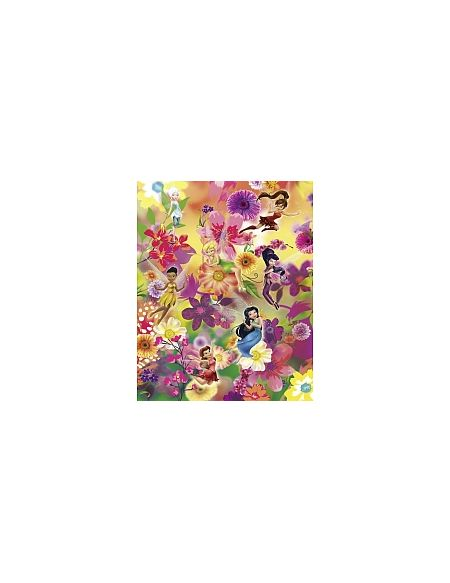 LDD Komar - Sticker mural - Disney Fairies Les Fleurs des Fées - 200 x 250 cm