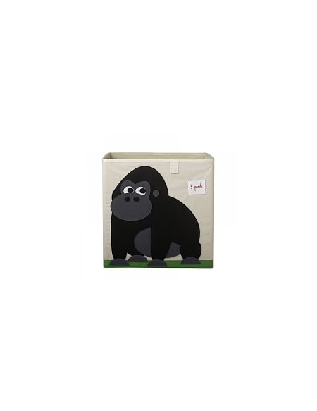 3 Sprouts - Cube Rangement - Gorille