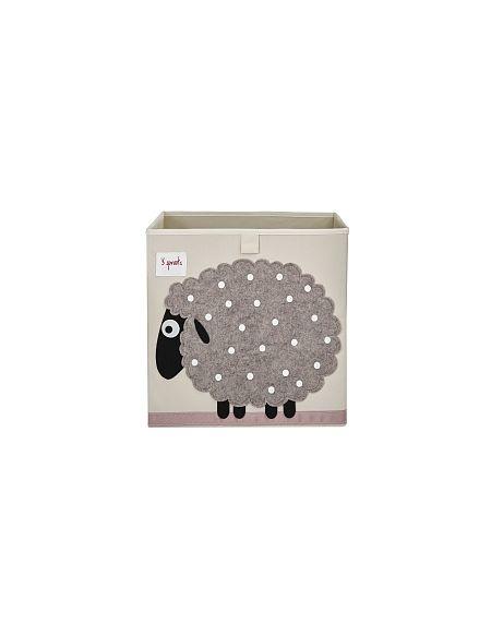 3 Sprouts - Cube Rangement - Mouton