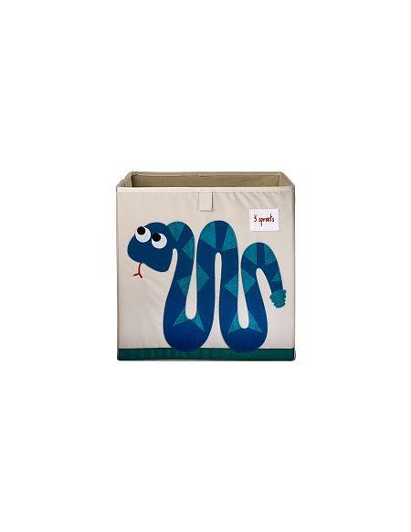 3 Sprouts - Cube Rangement - Serpent