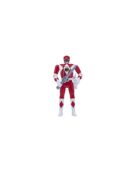 Figurine Auto Morphin - Power Rangers - Red Ranger
