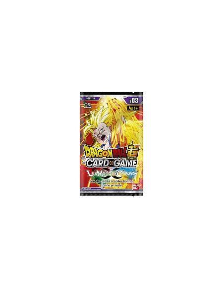 Booster - Dragon Ball Super - Série 3 - Les Mondes Croisés (Modèle Aléatoire)