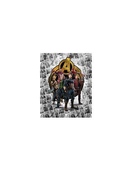 LDD Komar - Sticker mural - Avengers Pattern Box - 200 x 250 cm