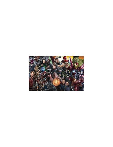 LDD Komar - Sticker mural - Avengers Infinity War - 400 x 250 cm