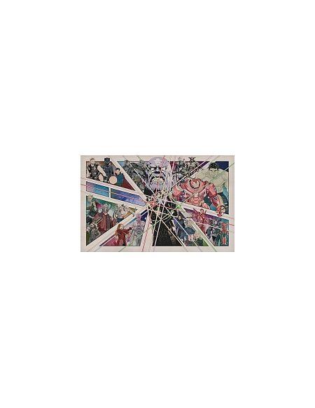 LDD Komar - Sticker mural - Avengers BD Vintage - 400 x 250 cm