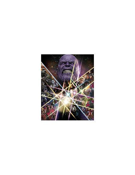 LDD Komar - Sticker mural - Avengers Force infinie - 200 x 250 cm