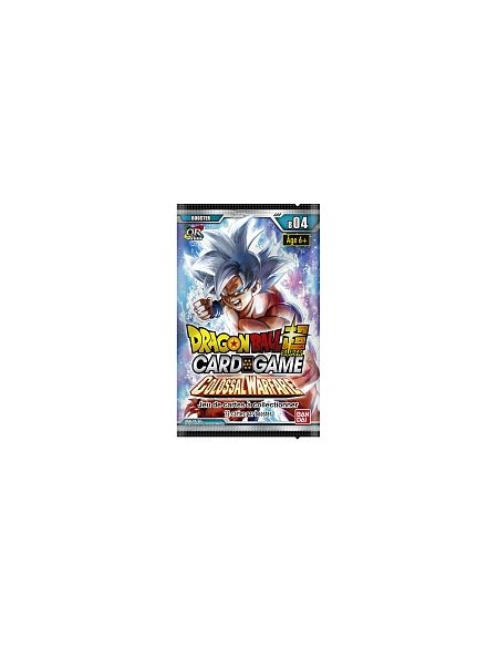Booster - Dragon Ball Super - Série 4 - Colossal Warfare (Modèle Aléatoire)