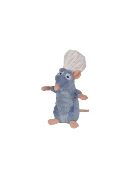 Peluche Ratatouille - Rémy avec toque - 20cm