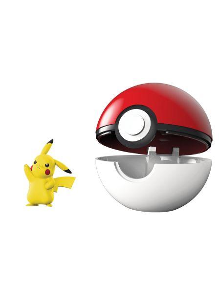 Poké Ball Pokémon avec sa figurine 5 cm Modèle aléatoire