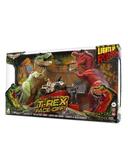 Combat de Dinosaures Jurassic Clash T-Rex