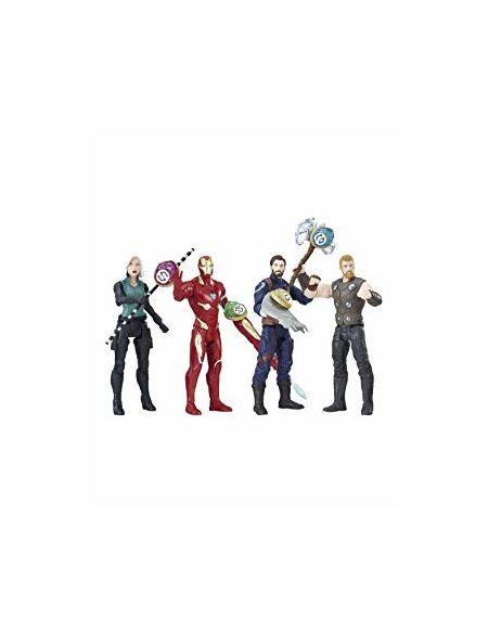 Figurine Avengers 15 cm animée