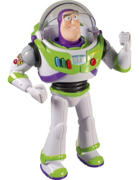 Toy Story - Figurine sonore 30 cm - Buzz l'éclair parlant
