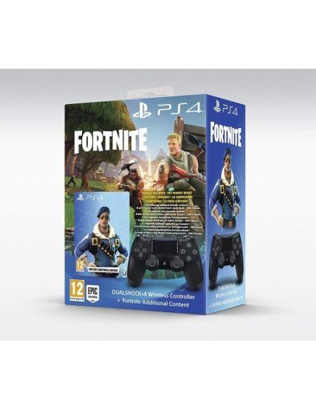 Manette Dualshock 4 + Contenu Additionnel Fortnite